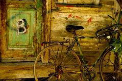 B para a bicicleta Fotografia de Stock