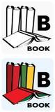 B para livros ilustração stock