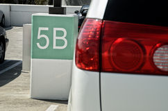5B place taillight Stock Photography