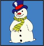 <b>Pupazzo di neve</b> Immagine Stock