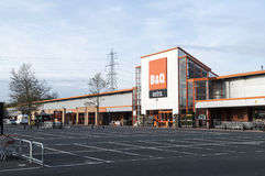 B&Q D.I.Y Superstore Building Stock Photography