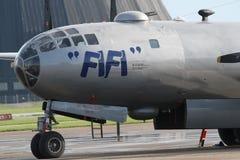 B-29 si chiudono su Fotografia Stock Libera da Diritti