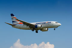 B737 Smartwings Photographie stock