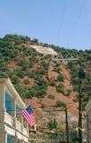 B som Bisbee - Arizona - Förenta staterna Royaltyfri Fotografi