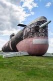 B-307 (1977), sowjetisches Tango-klasse, dieselelektrisches Unterseeboot, außer Dienst gestellt 2002 lizenzfreies stockfoto