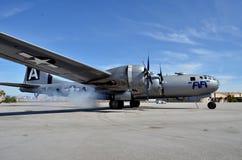 B-29 Superfortress Fotografie Stock Libere da Diritti