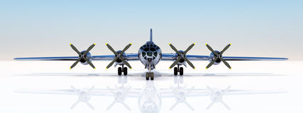 B-29 Superfortress Royalty Free Stock Photo