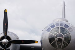 B-29 Superfortress. A frontal look at an American icon Royalty Free Stock Photos