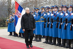 B.Tadic und Abdeckung der Ehre Lizenzfreie Stockfotografie