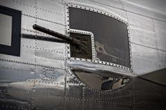 B-25 taillekanon Stock Afbeeldingen