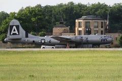 B-29 and terminal Stock Photo