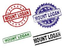 BÂTI texturisé grunge LOGAN Seal Stamps Illustration Libre de Droits