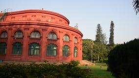 B?timent de la biblioth?que central d'?tat, Bangalore, Karnataka clips vidéos