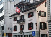 B?timent historique en luzerne, Suisse images libres de droits