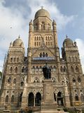B?timent municipal de Mumbai, Mumbai, Inde image libre de droits