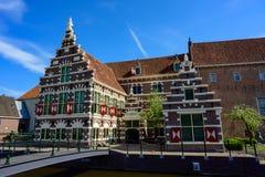 B?timents historiques de Rotterdam et architecture d?placement de Pays-Bas, l'Europe photographie stock libre de droits