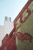 Böttcher alley with art building in Bremen Stock Photos