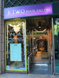 B TWO Hair salon in hong kong Royalty Free Stock Photography