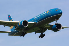 B777 Vietnam Airlines stock photos