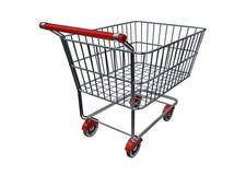b wózka na zakupy Zdjęcia Stock