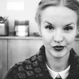 B&W γυναίκα Στοκ φωτογραφία με δικαίωμα ελεύθερης χρήσης