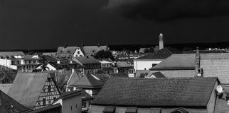 B&W copre Bamberga Fotografia Stock