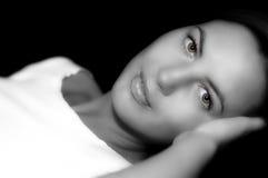 B&W-modell Royaltyfri Bild