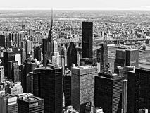 B&W monochrome architecture skyscrapers manhattan new york city USA. B&W monochrome architecture skyscrapers manhattan in new york city USA Royalty Free Stock Photo