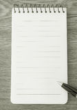 B&W note paper Royalty Free Stock Photography