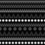B&W plemienny royalty ilustracja