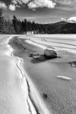 B&W Spirytusowy jezioro w Idaho Zdjęcie Royalty Free