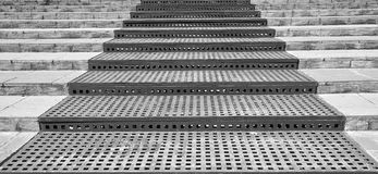B&W steps Royalty Free Stock Images