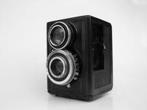 B/w uitstekende camera Stock Foto's