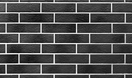 B&W wall brick texture Royalty Free Stock Photos