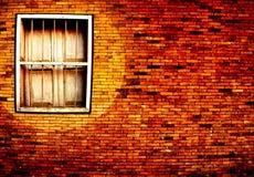 b wzoru brogu ściany okno drewniany Zdjęcia Stock