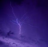 Błyskawicowy niebo Obraz Stock