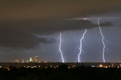 błyskawicowy Tulsa Fotografia Stock