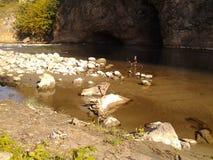 Błyskawiczna rzeka Zdjęcie Stock