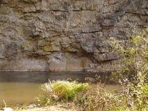 Błyskawiczna rzeka Zdjęcia Stock