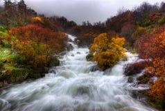 błyskawiczne wody Fotografia Royalty Free