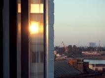 Błyszczy okno Fotografia Stock