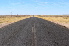 B1 road heading toward Sesriem and Sossusvlei Royalty Free Stock Image