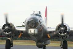 b17 bombplan ww2 Arkivfoton