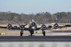 B17 wereldoorlog 2 bommenwerper Royalty-vrije Stock Afbeeldingen