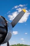 B17 WWII Flugzeug Lizenzfreies Stockbild