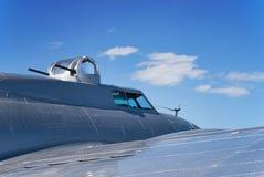 B17 WWII Plane Stock Photo
