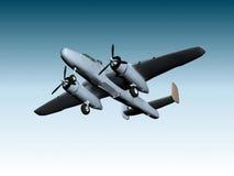 b25 βομβαρδιστικό αεροπλάν&o Στοκ φωτογραφίες με δικαίωμα ελεύθερης χρήσης