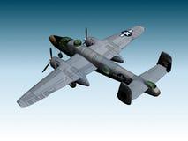 b25 βομβαρδιστικό αεροπλάν&o Στοκ Εικόνες