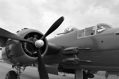 B25 Bomber Royalty Free Stock Photo
