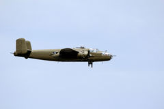 B25 Bomber Royalty Free Stock Photos